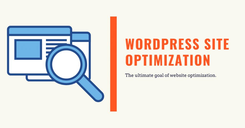 wordpress website optimization.